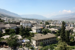 TACTICAL TOURISM KICKOFF MEETING 14 - GJIROKASTER VIEW FROM THE HOTEL